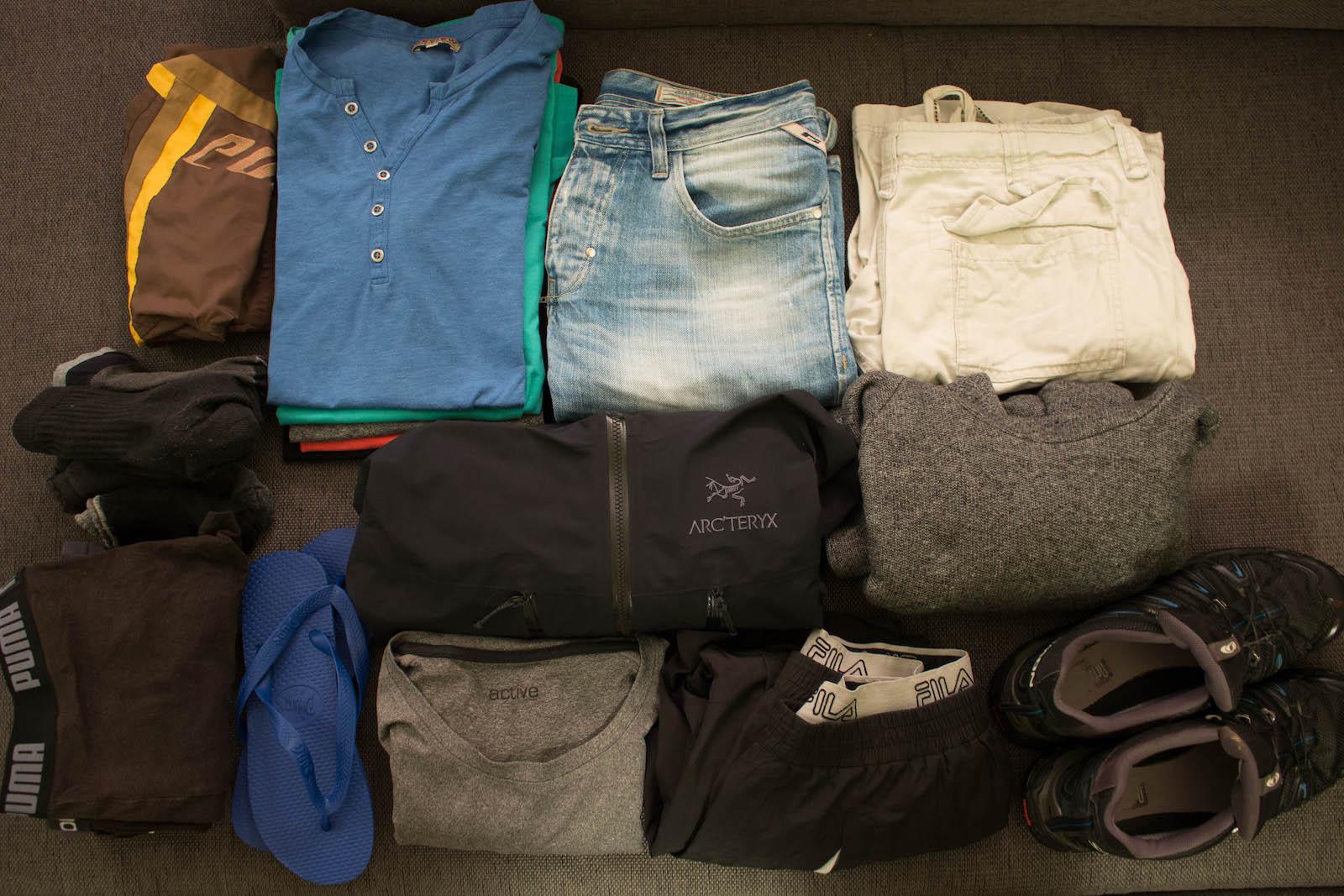 PacklisteKleidungBjörn